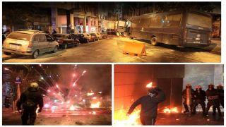 Анархисты напали на полицейский участок, в ответ полиция выйдет на митинг протеста