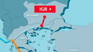Соглашение по газопроводу Греция-Болгария внесено в парламент Греции