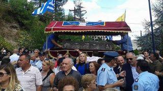 В Греции тысячи верующих почтили память святого Иоанна Русского (фото)