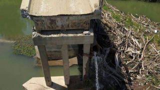 Обрушение моста в Серрес