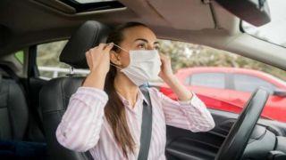 Маска в автомобиле: когда необходимо ее надевать