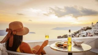 Бабье лето пришло в Грецию