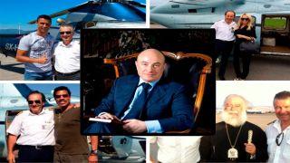 Камерон, Де Ниро, Роналду и другие, также летали на злосчастном вертолете...