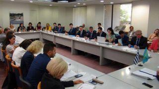 В Афинах прошло 4-е заседаниеКазахстанско-греческой межправительственной комиссии (МПК) по экономическому и технологическому сотрудничеству