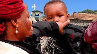 «Лучше в Мории»: мигранты сбежали с монастыря через пару часов после прибытия