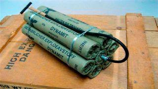На острове Закинфос обнаружили тайник с 800 кг взрывчатки.