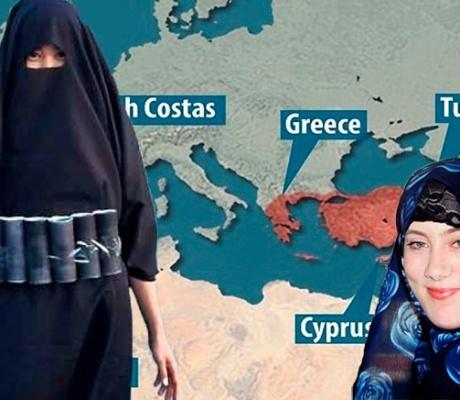 Греция на прицеле террористов:Опасайтесь «БЕЛОЙ ВДОВЫ»