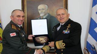 Начальник генштаба ВС Грузии посетил Грецию