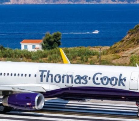 """Туристы банкрота """"Thomas Cook"""" застряли в Греции"""