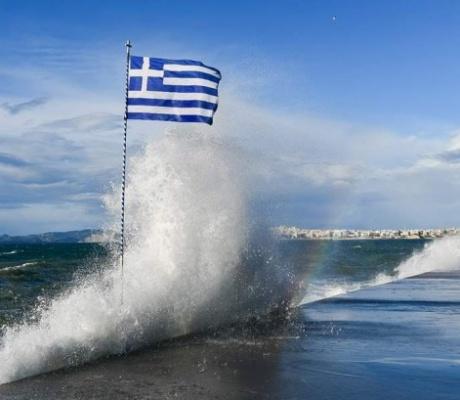 EMY: штормовое предупреждение в Эгейском море