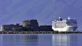 Греция: круизный бизнес потеряет до 30%
