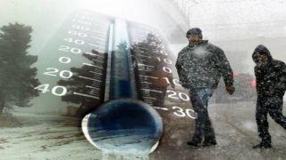 Погода: похолодание, морозы и снегопад