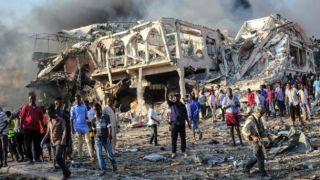 Теракт в Сомали: число жертв выросло до 276, сотни ранены