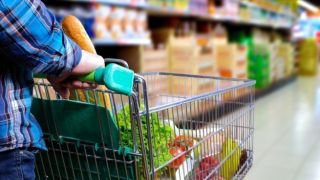 Рост продаж в супермаркетах
