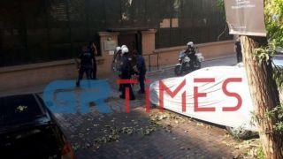 Анархисты напали на консульство Турции в Салониках