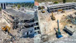 Бульдозеры в Эллинико: начался снос зданий