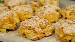 Домашнее Печенье с яблоками.