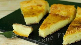 Греческий молочный пирог Галатопита