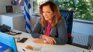 Дора Бакоянни — вице-президент Совета Европы