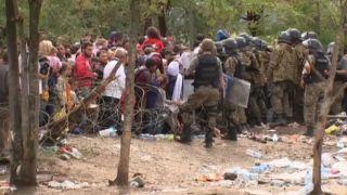 Полиция БЮРМ задержала 120 мигрантов из Греции