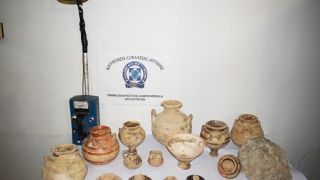 """Арестованы три """"черных"""" археолога в Мессинии"""