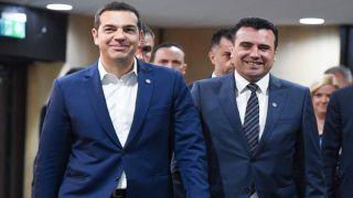 Ципрас и Заев купаются в лучах славы в Германии