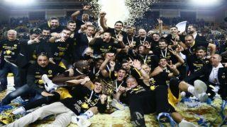 Обладателем Кубка Греции по баскетболу стал столичный АЕК