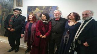 Выставка известного художника Ираклия Пархаридиса в Афинах