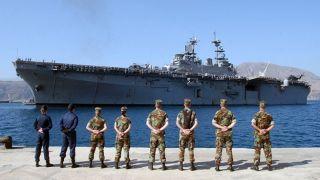 Усиление военного присутствия США в Греции