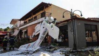 Падение самолета обошлось без жертв