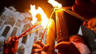 Израиль поможет христианам получить «Благодатный огонь»