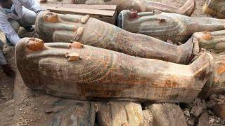 Луксорская сенсация: Египте найдено 20 нетронутых саркофагов