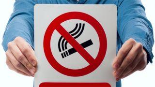 Первые штрафы за курение в Ламии