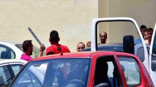 Полицейские разняли вооруженных цыган