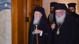 Патриарх Варфоломей прибудет в Афины для примирения с Иеронимом