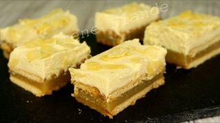 Персиковое пирожное - торт без выпечки