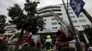Это поджог: полиция провела расследование пожара в отеле Athenaeum Palace