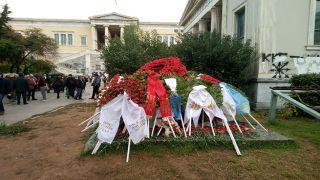 Полиция Афин: повышенные меры безопасности в «День Политехнио»