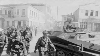 27 апреля 1941 года: немецкие войска занимают Афины (видео)