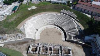 Древний театр в Ларисе примет своих первых посетителей в 2022 году
