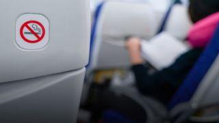 Арестован за курение на борту Ryanair