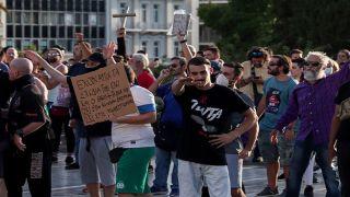 Греция: марши протестов против принудительной вакцинации продолжаются