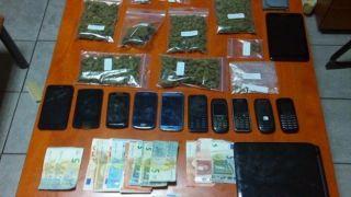 Пять арестов за наркотики в университете Аристотеля