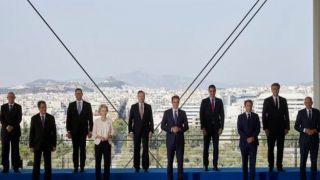 EUMED9: лидеры ЕС подписывают Афинскую декларацию об изменении климата и воздействии на Средиземноморье