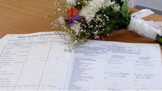 Гражданские регистрации брака набирают популярность с начала кризиса