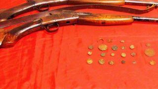 Арест за незаконную продажу древних монет