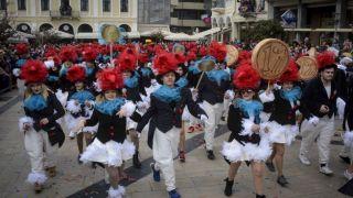 Открытие карнавала в Патрах