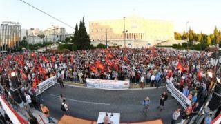 Коммунисты провели акцию протеста против запрета на митинги