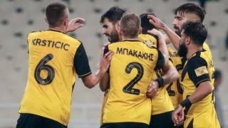Суперлига Греции. 13 тур. В ожидании нового тренера АЕК забивает пять голов