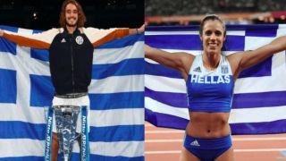 Стефанос Циципас и Катерина Стефаниди – лучшие спортсмены Греции 2019 года